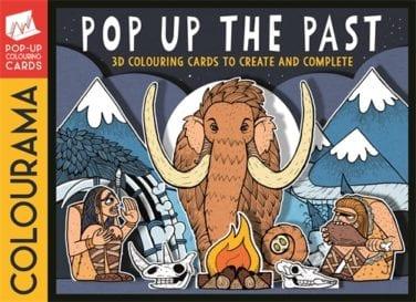 Colourama Pop Up Colouring Book Cover