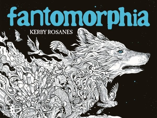 Fantomorphia adult colouring by Kerby Rosanes