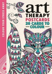 Art Therapy Postcards - Colour Your Stress Away