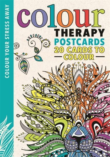 colour therapy postcards - Online Coloring Book