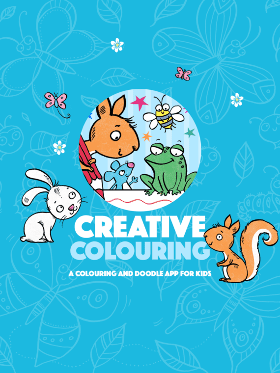 Creative Colouring - A Colouring and Doodle App for Kids