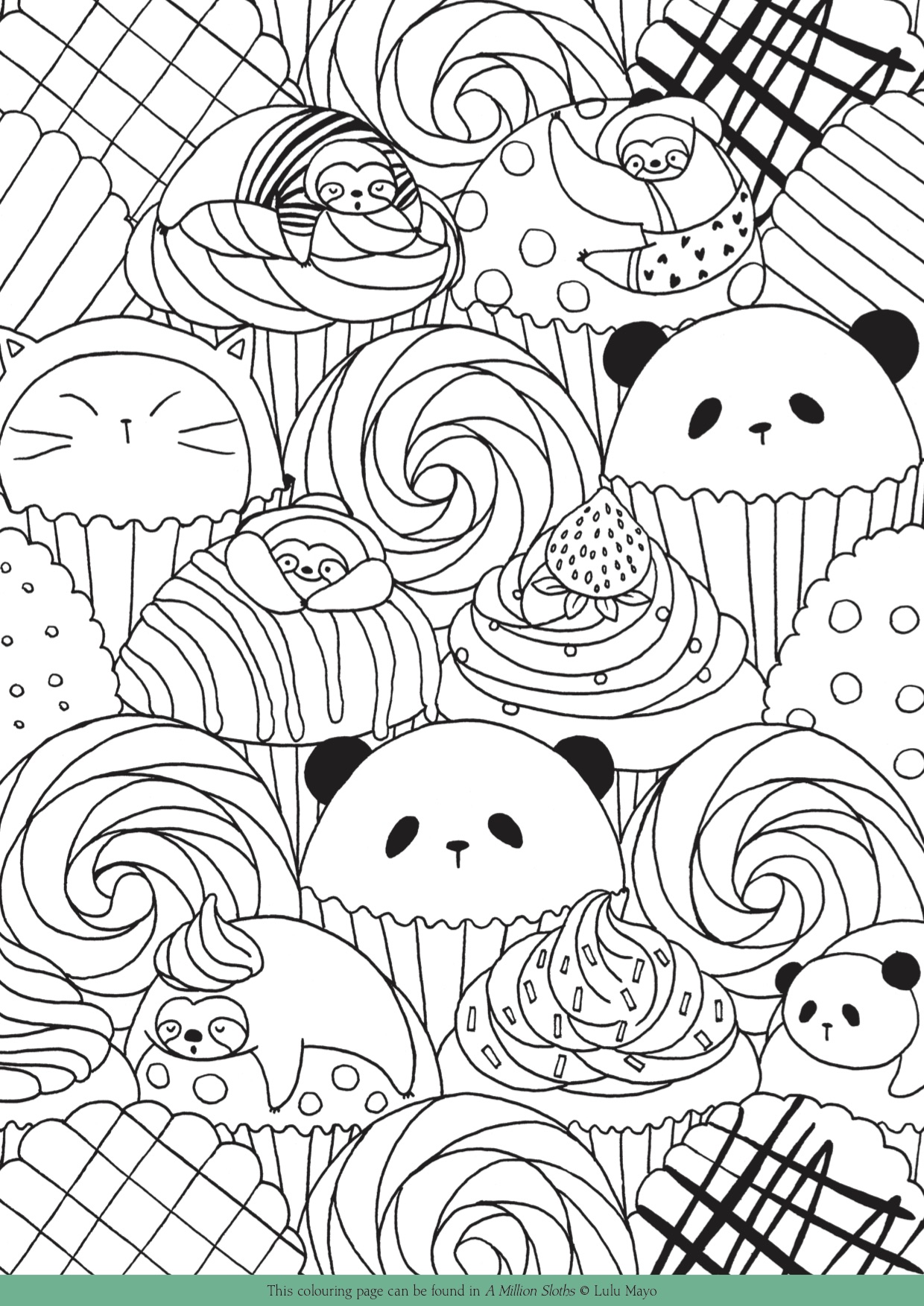 Free Downloadable Colouring Pages for Adults - Michael O ...