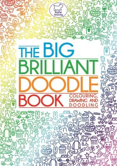 An online colouring game for kids based on The Big Brilliant Doodle Book