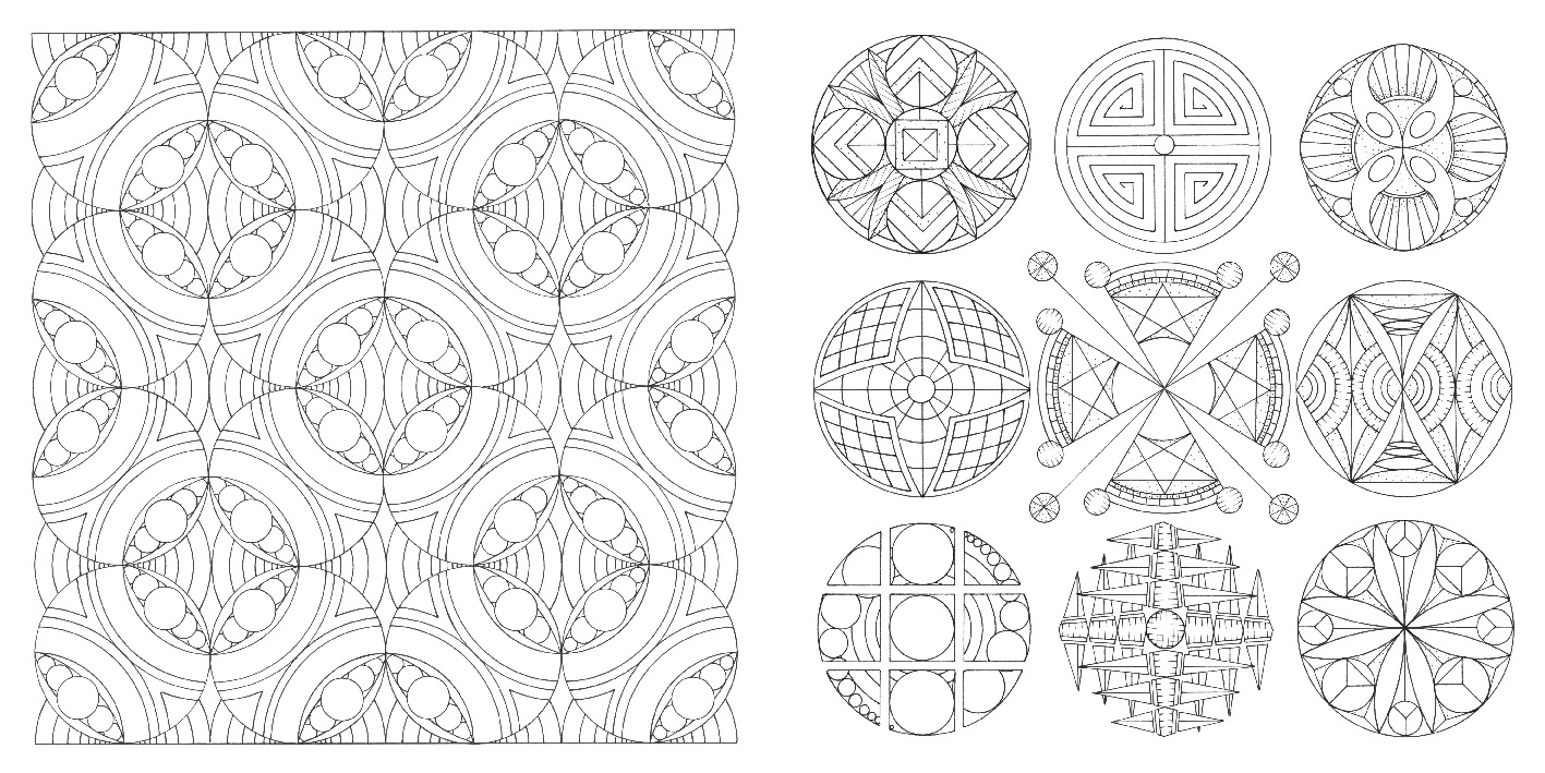 The Golden Ratio Colouring Book Michael O Mara Books