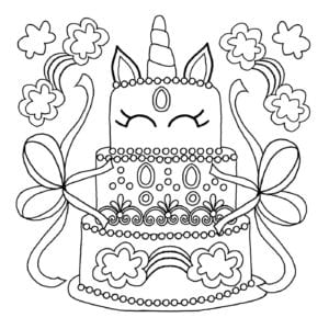 Free Printable Unicorn Colouring Pages For Kids Buster Children S